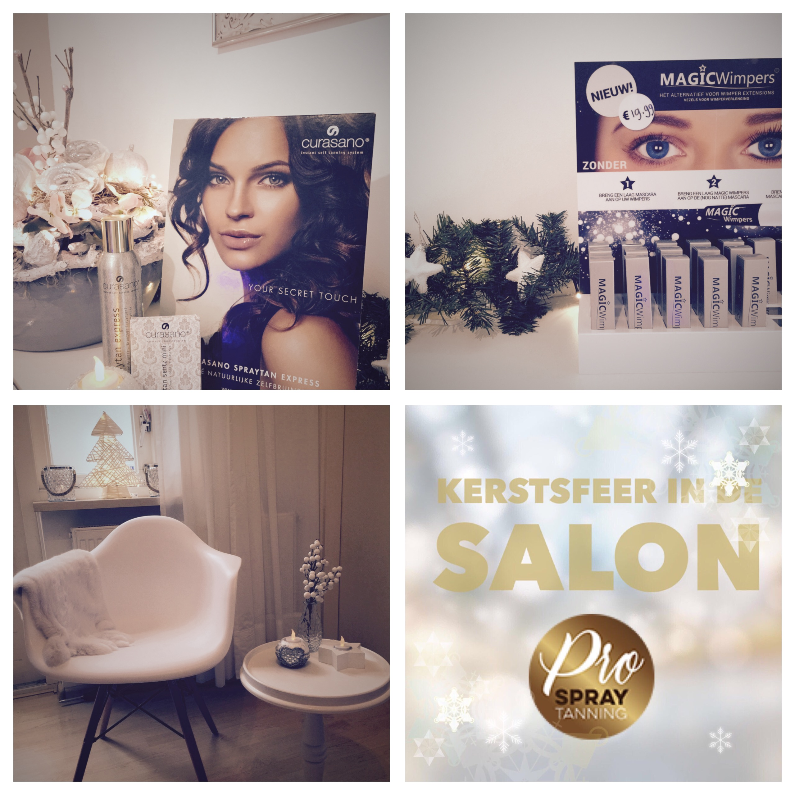 kerst in de salon
